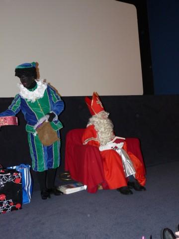 Sint en Piet in actie